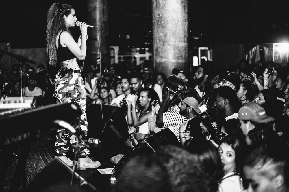 Snoh Alegra at NYC Hiphop venue SOB's