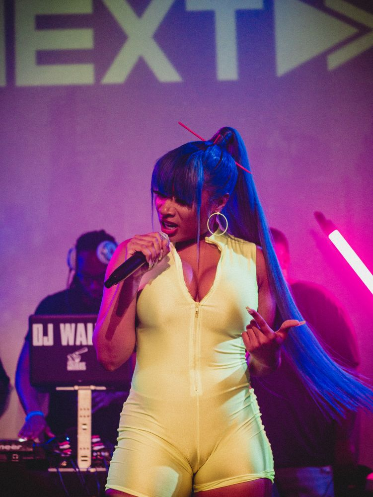 Megan thee Stallion at SOBs hip hop venue new york city
