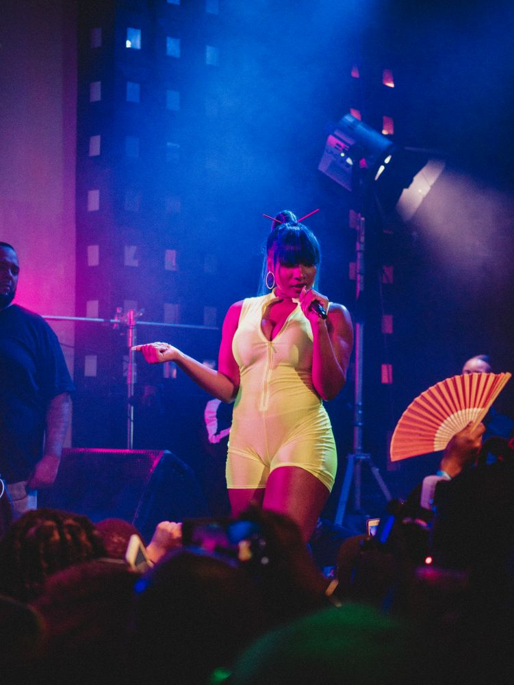 Megan thee Stallion at SOBs hip hop venue new york city 2