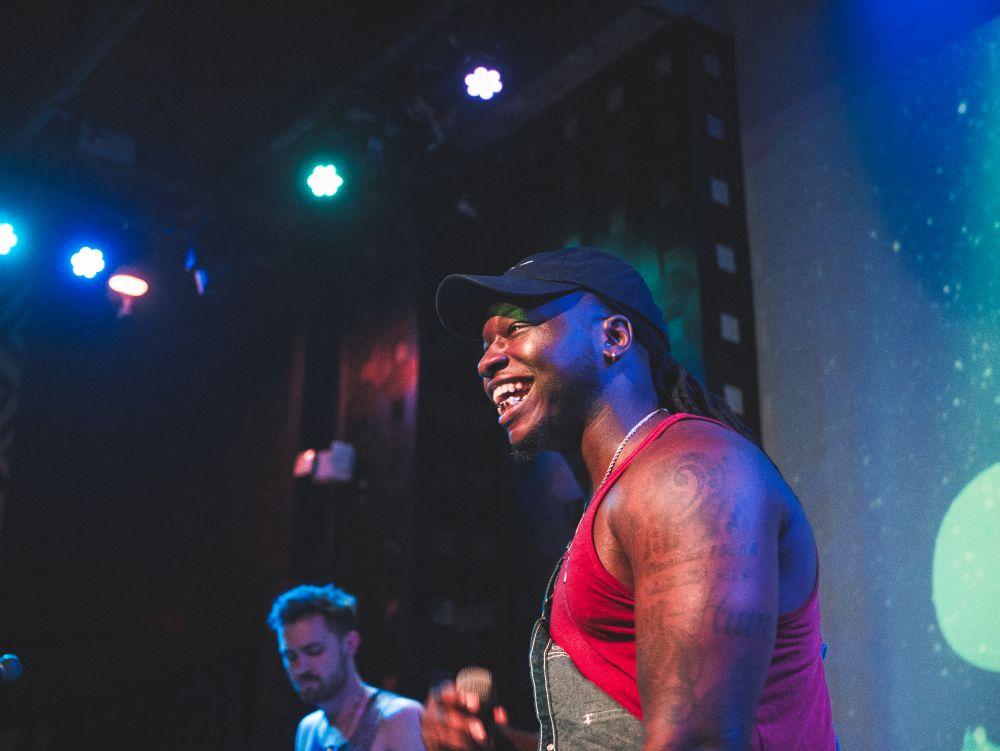 Chris Lee performing at SOBs NYC Hip Hop venue