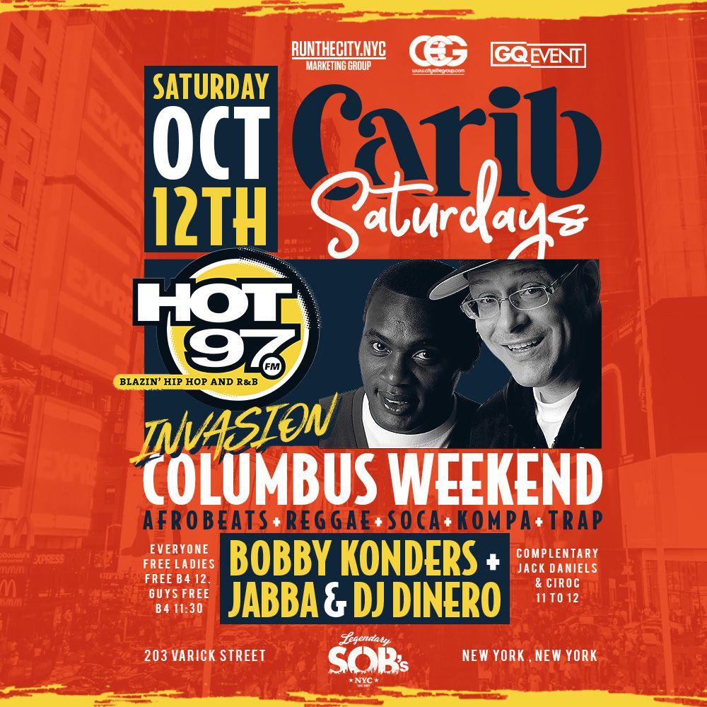 Carib Saturdays | SOBS