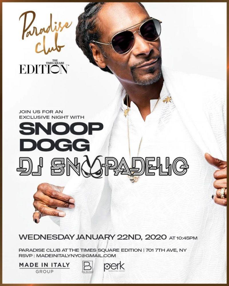 Snoop Flyer