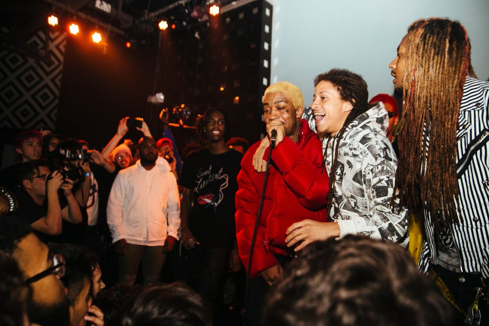 Lil Tracey and Asap illz at NYC Hiphop venue SOB's