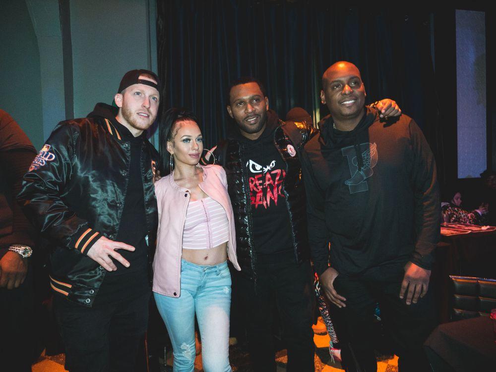 MariahLynn, Drewski ,DJ Self at NYC Hiphop venue SOB's